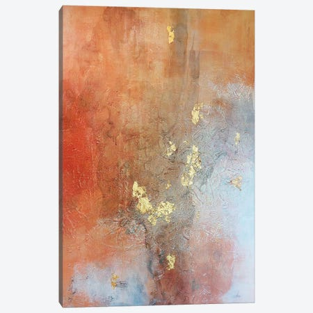 Burning Me Up 3-Piece Canvas #OLM31} by Christine Olmstead Canvas Wall Art