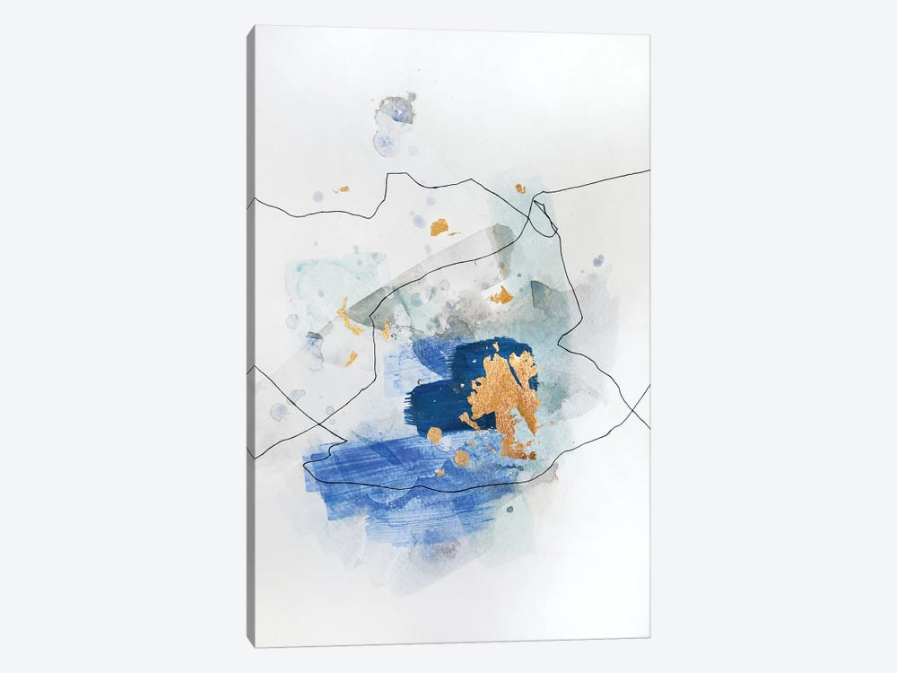 Backseat Blues by Christine Olmstead 1-piece Art Print