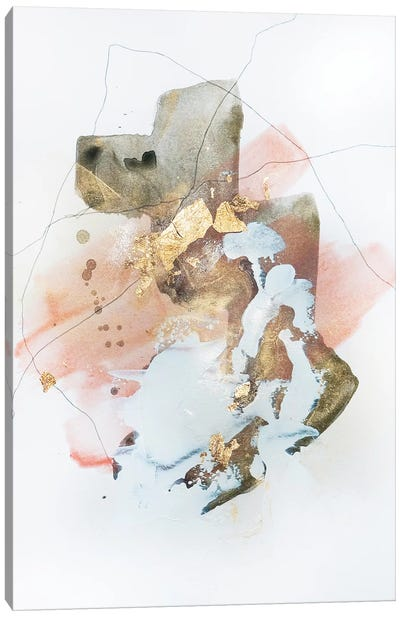 Deconstruction In Pink II Canvas Art Print