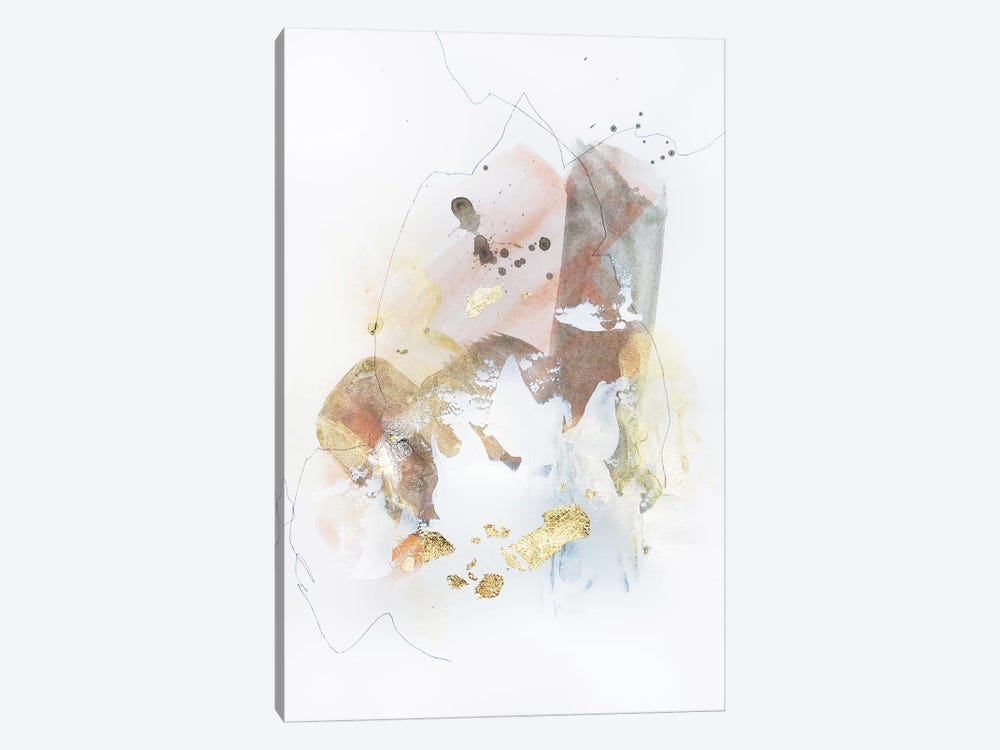 Deconstruction V by Christine Olmstead 1-piece Art Print