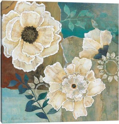 Flowers at Dawn I Canvas Art Print