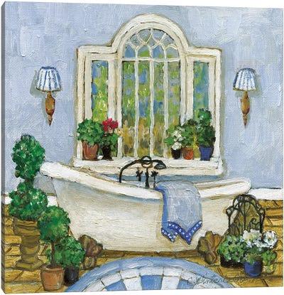 Pampered Bath I Canvas Art Print
