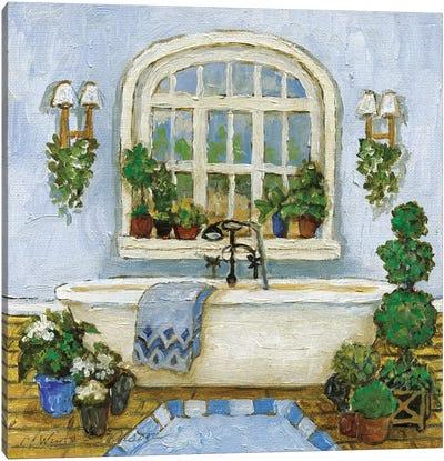 Pampered Bath II Canvas Art Print