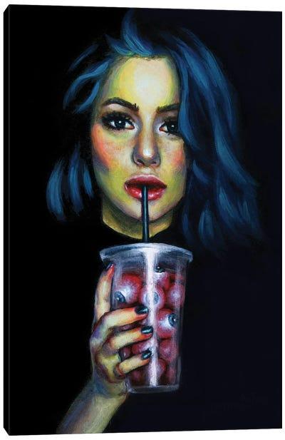 Trick Or Treat. Milkshake Canvas Art Print