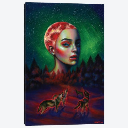 Dark Side Canvas Print #OLU110} by Olesya Umantsiva Canvas Wall Art
