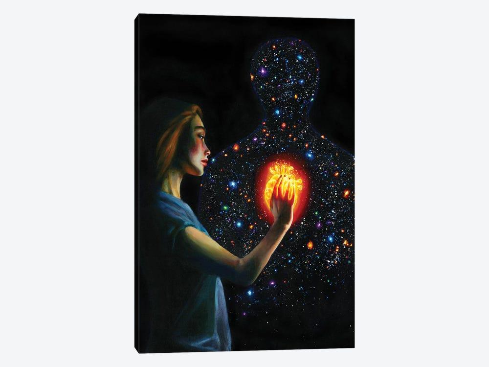 Mystery by Olesya Umantsiva 1-piece Canvas Art Print