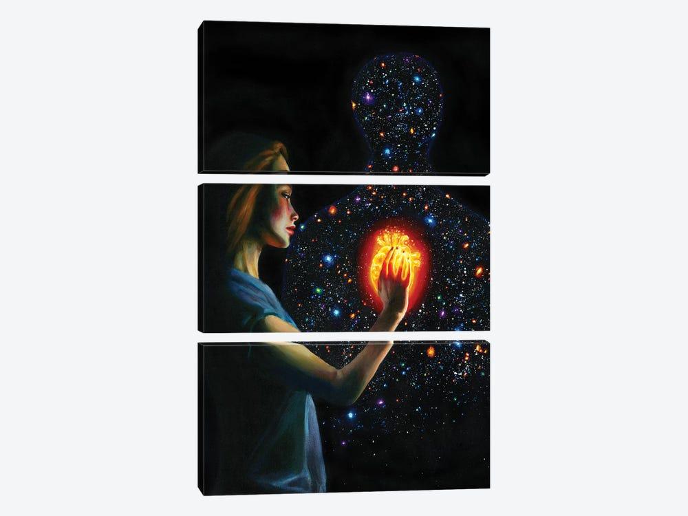 Mystery by Olesya Umantsiva 3-piece Canvas Print
