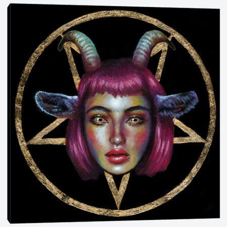 Demon Canvas Print #OLU116} by Olesya Umantsiva Canvas Print