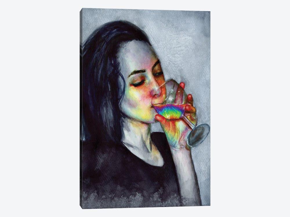 Confidence by Olesya Umantsiva 1-piece Canvas Art