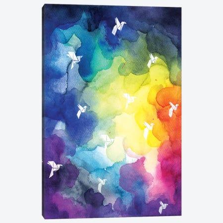 Colorful Clouds Canvas Print #OLU11} by Olesya Umantsiva Canvas Art