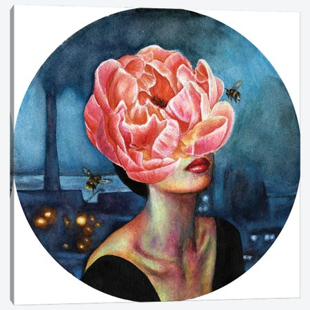 Dust Canvas Print #OLU126} by Olesya Umantsiva Canvas Art
