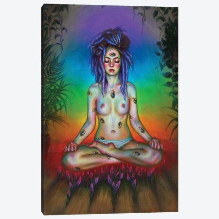 Meditation Canvas Print #OLU131} by Olesya Umantsiva Canvas Art