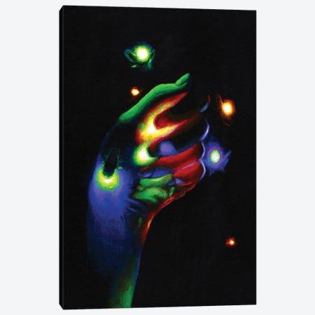 Firefly Canvas Print #OLU132} by Olesya Umantsiva Canvas Art