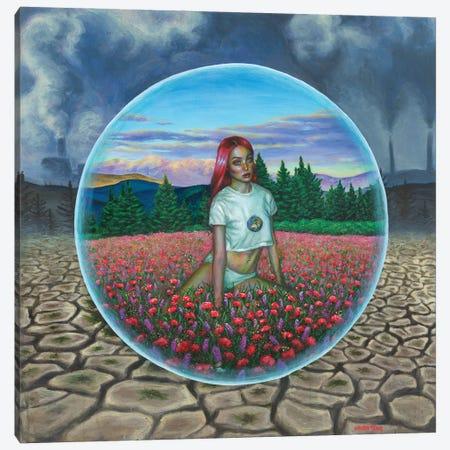 In The Bubble Canvas Print #OLU134} by Olesya Umantsiva Canvas Art Print