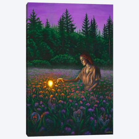 Idea Canvas Print #OLU135} by Olesya Umantsiva Canvas Art Print
