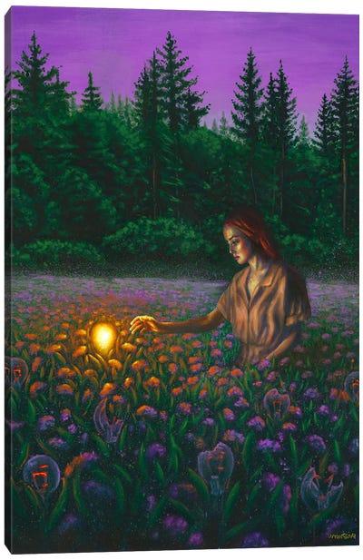 Idea Canvas Art Print