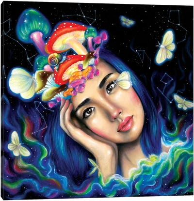 Creative Mind Canvas Art Print