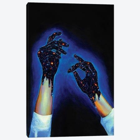 Dark Matter 3-Piece Canvas #OLU14} by Olesya Umantsiva Canvas Art Print