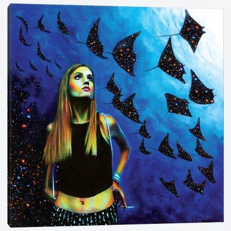 Abyss Canvas Print #OLU1} by Olesya Umantsiva Art Print