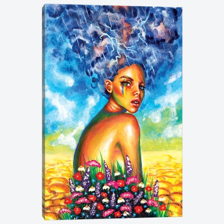 Here Comes The Sun Canvas Print #OLU26} by Olesya Umantsiva Canvas Artwork