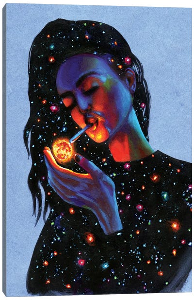 Ask The Universe Canvas Art Print