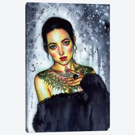 Inked Canvas Print #OLU31} by Olesya Umantsiva Canvas Artwork