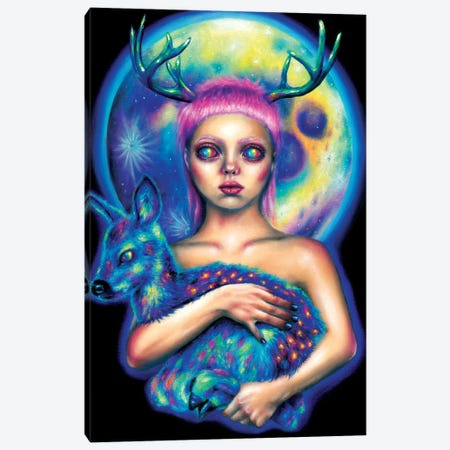 Inner Space Canvas Print #OLU32} by Olesya Umantsiva Canvas Art