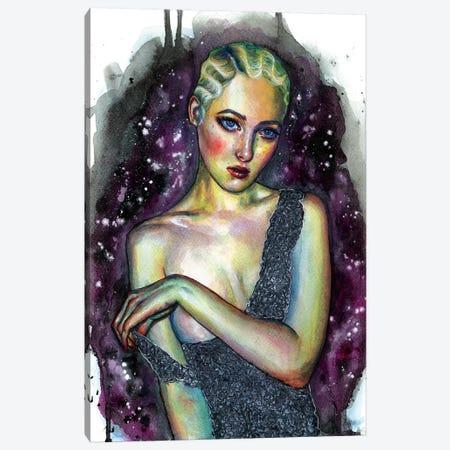 Lace Canvas Print #OLU35} by Olesya Umantsiva Canvas Print