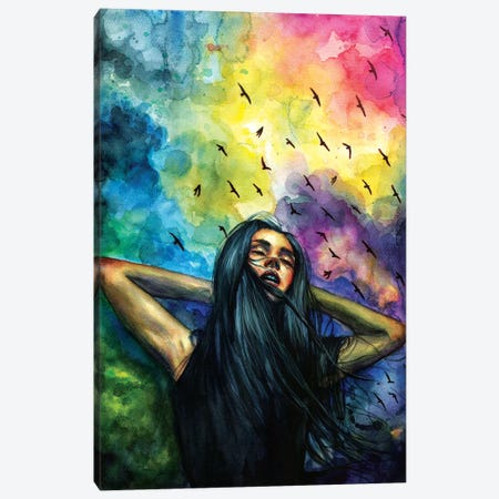 Aurora Canvas Print #OLU3} by Olesya Umantsiva Canvas Print