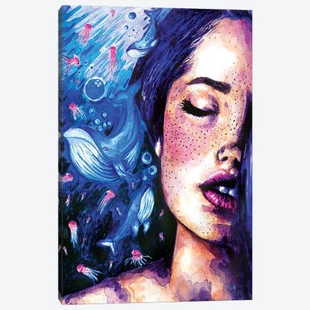 Music Of The Ocean Canvas Print #OLU44} by Olesya Umantsiva Canvas Art