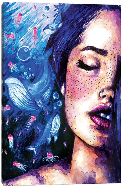Music Of The Ocean Canvas Art Print