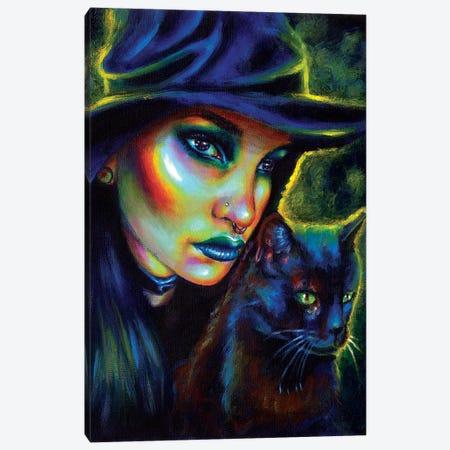 My Spirit Animal Canvas Print #OLU46} by Olesya Umantsiva Canvas Wall Art