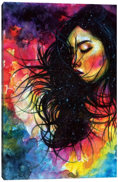 Overthinking Canvas Art Print