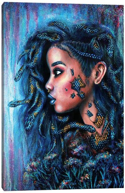 Snake Charmer Canvas Art Print