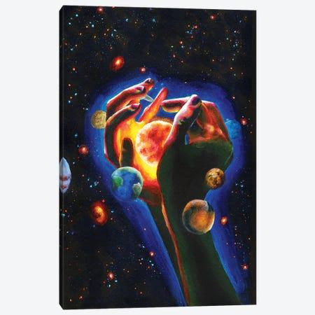 Solar System Canvas Print #OLU56} by Olesya Umantsiva Canvas Print