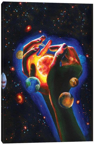 Solar System Canvas Art Print