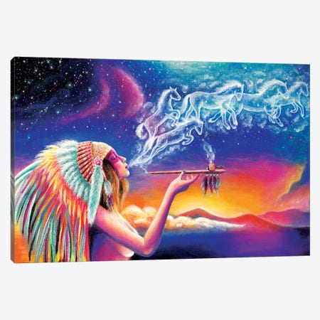 Spirit 3-Piece Canvas #OLU58} by Olesya Umantsiva Canvas Wall Art