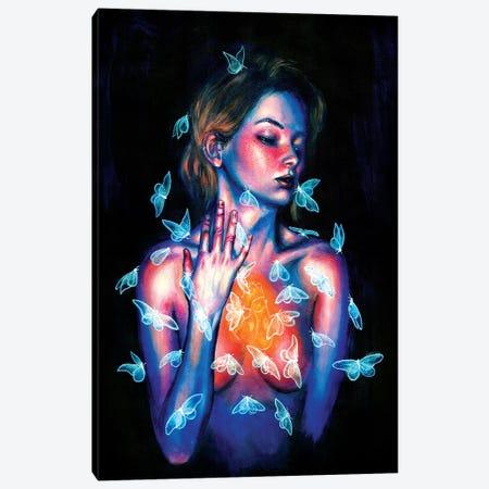 Thinking Of You Canvas Print #OLU66} by Olesya Umantsiva Canvas Wall Art