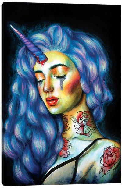 Unicorn Tears Canvas Art Print