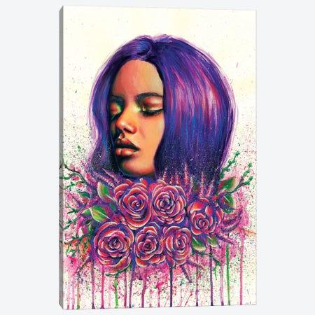 Violet Canvas Print #OLU72} by Olesya Umantsiva Canvas Artwork