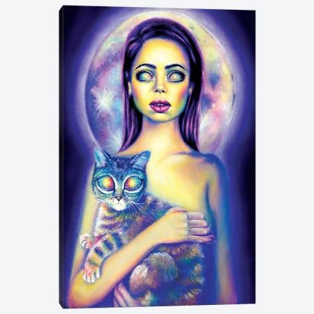 Visitors Canvas Print #OLU73} by Olesya Umantsiva Canvas Wall Art