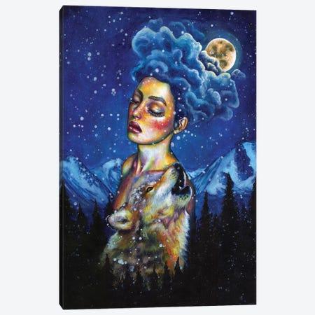 Howl Canvas Print #OLU88} by Olesya Umantsiva Canvas Print