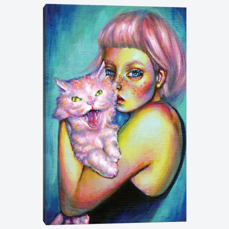 Roar Canvas Print #OLU96} by Olesya Umantsiva Canvas Art Print