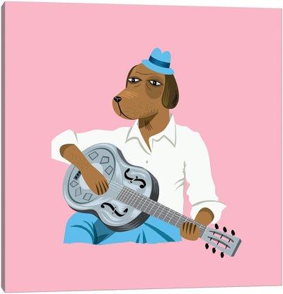 Hound Dog Slim Canvas Art Print