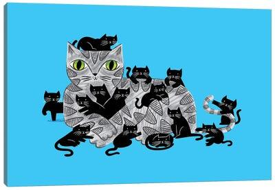 Kitten Litter Canvas Art Print