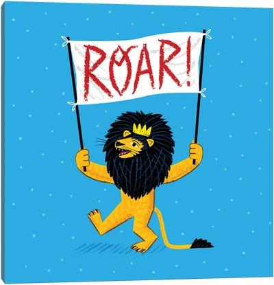 Roar Canvas Art Print