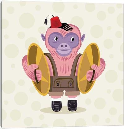 The Monkey Boy Canvas Art Print
