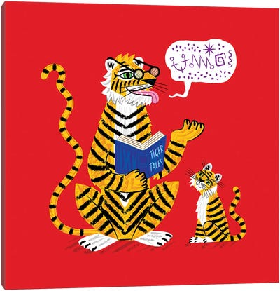 Tiger Tales Canvas Art Print