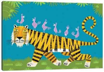Tiger Transportation Canvas Art Print