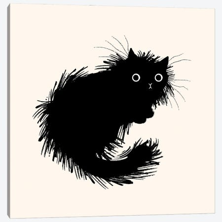 Moggy No.2 Canvas Print #OLV97} by Oliver Lake Canvas Artwork